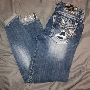 Miss me distressed skinny